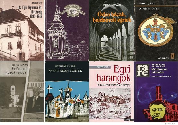 Egri témájú könyvek